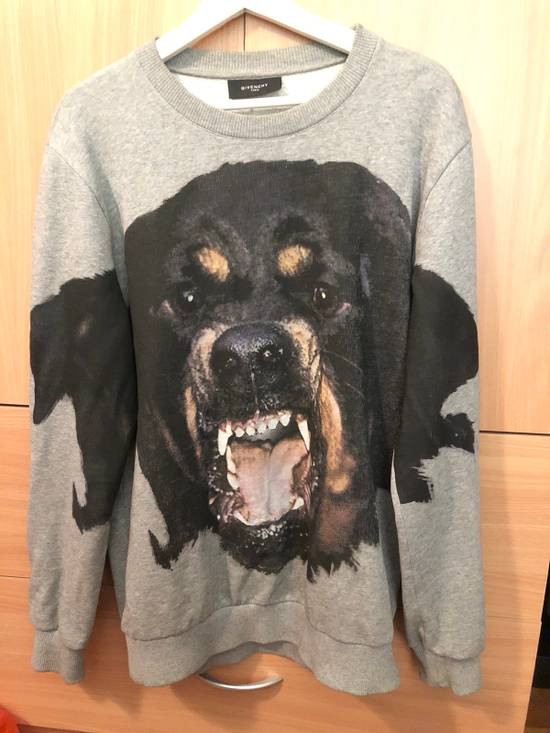 Givenchy Rottweiler Printed Grey Sweater Size US XS / EU 42 / 0
