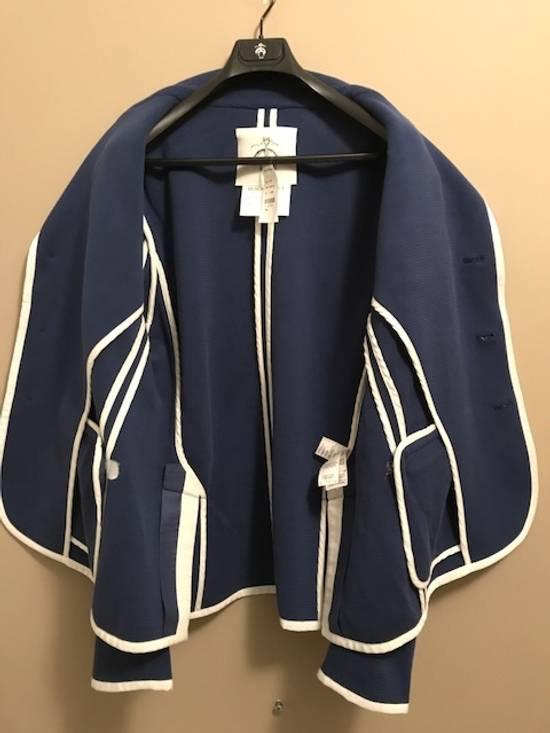 Thom Browne Bright Blue Knit Blazer Size 44R - 8