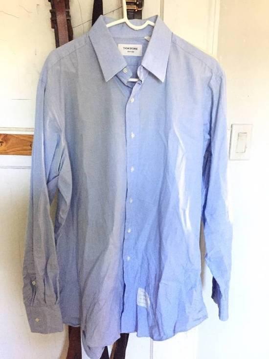 Thom Browne BLue Collar Shirt Size US XXL / EU 58 / 5