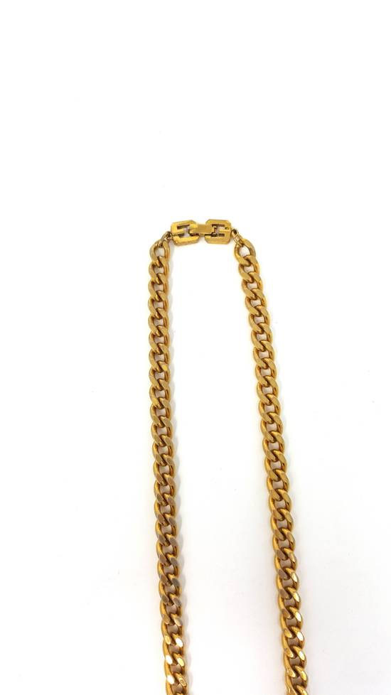 Givenchy OVERSIZED Gold plated logo necklace Size ONE SIZE - 14