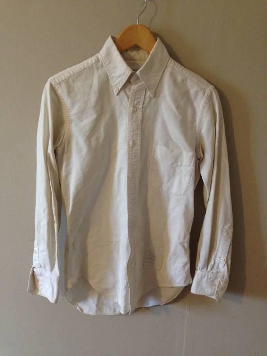 Thom Browne Classic White Slim OCBD Size US XS / EU 42 / 0