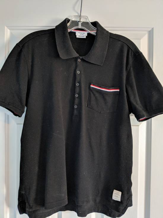 Thom Browne Thom Browne Navy Pocket Polo Size US M / EU 48-50 / 2