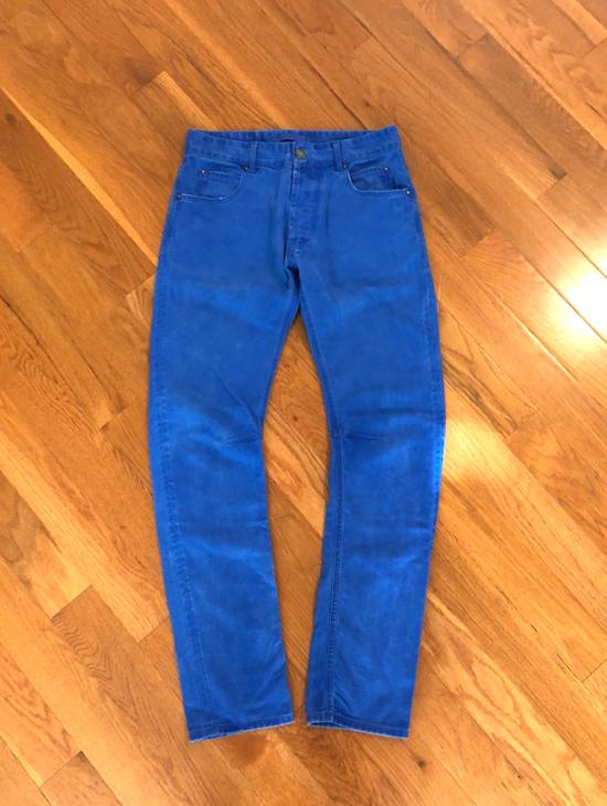 Balmain Slim/Skinny Blue Jeans Size US 30 / EU 46