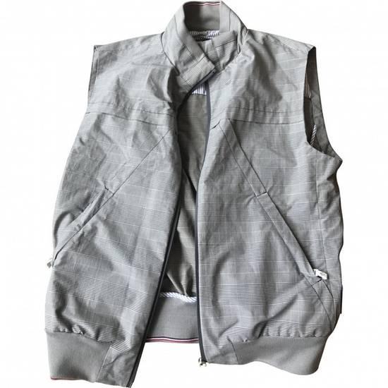 Thom Browne $1880 Moncler Gamme Bleu Checker Vest Size 2 Size US M / EU 48-50 / 2 - 2