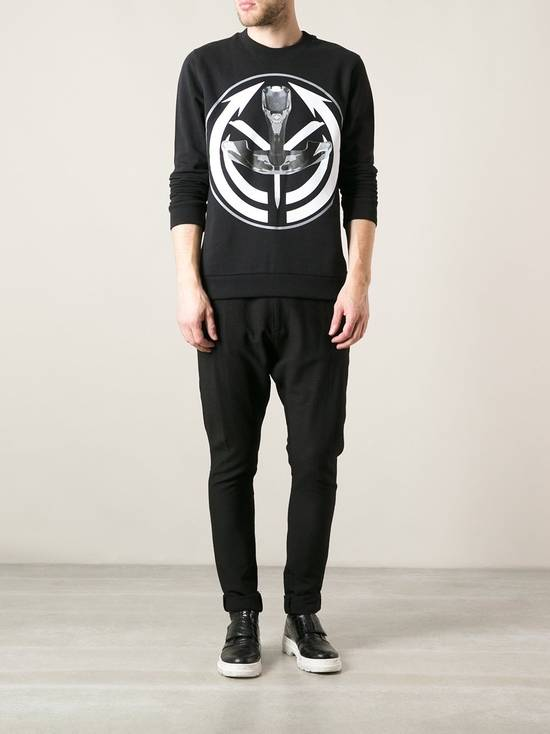 Givenchy $725 Givenchy Tribal Occult Target Print Rottweiler Shark Stars Relaxed Fit Men's Sweater size M Size US M / EU 48-50 / 2 - 4