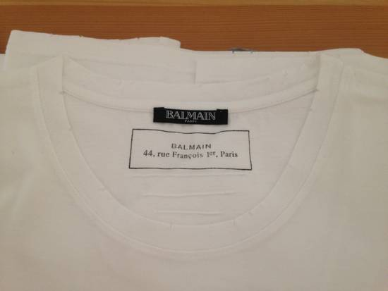 Balmain 3 Pack Basic T-Shirts (black,grey,white) LAST DROP, THIS IS SERIOUSLY A GOOD DEAL Size US L / EU 52-54 / 3 - 4