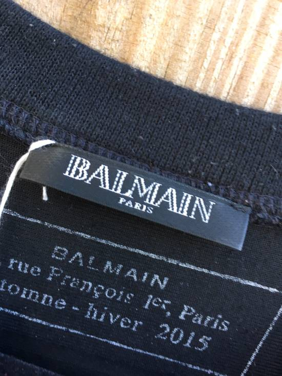 Balmain Balmain Striped Velvet Jersey Top Size US S / EU 44-46 / 1 - 2
