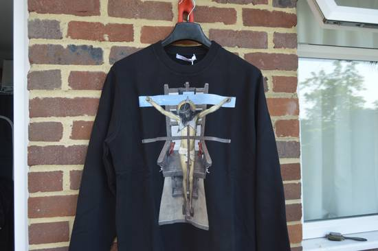 Givenchy Jesus Cross Sweater Size US XL / EU 56 / 4 - 3
