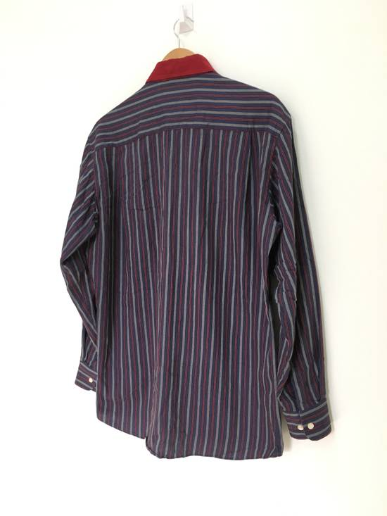 Givenchy Gentleman Givenchy Indigo Red Stripes Casual Shirt Made in Italy Size US M / EU 48-50 / 2 - 6