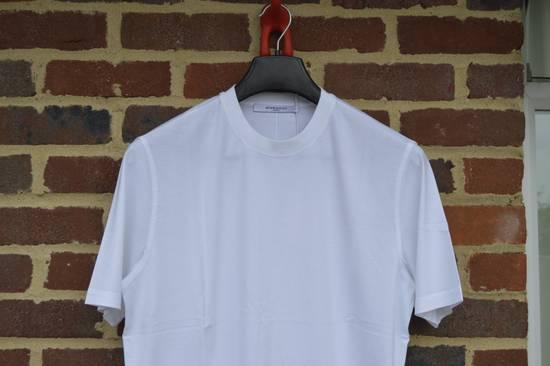 Givenchy White Hem Logo T-shirt Size US XS / EU 42 / 0 - 2