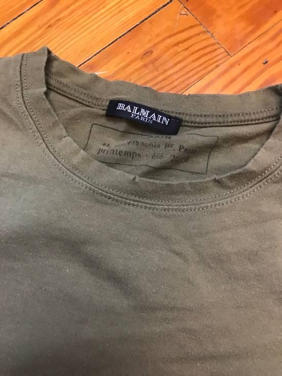 Balmain Army Green T-Shirt Size US S / EU 44-46 / 1