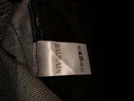 Balmain Balmain Biker Jeans Dark Grey Distressed Size US 31 - 6