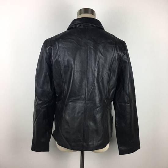 Balmain Mens BALMAIN Paris Leather PVC Jacket Coat Luxury Designer Size US M / EU 48-50 / 2 - 6