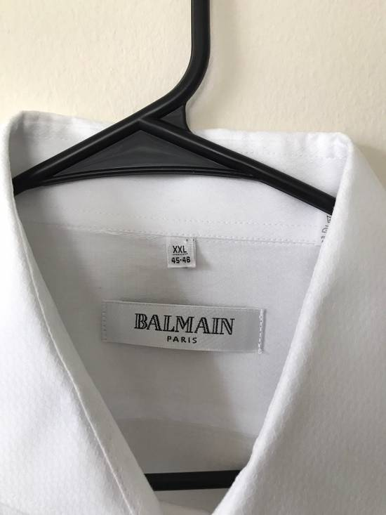 Balmain White Button Up Size US XXL / EU 58 / 5 - 1