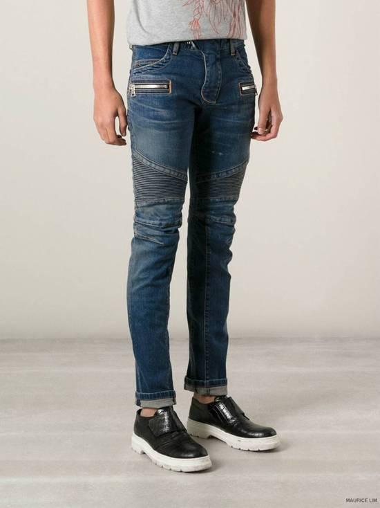 Balmain Rare SS 15 Balmian Biker jeans Size US 32 / EU 48 - 1