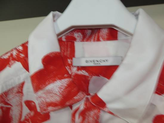 Givenchy Iris print short sleeve shirt Size US S / EU 44-46 / 1 - 2