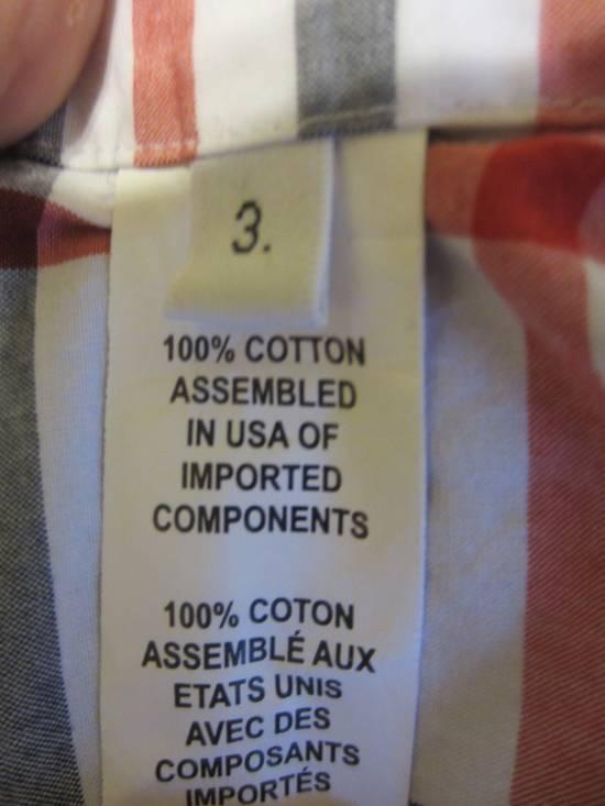Thom Browne Classic Large Check Plaid Oxford Shirt Size US L / EU 52-54 / 3 - 5