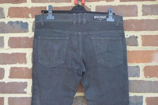 Balmain Black Biker Jeans Size US 30 / EU 46 - 4