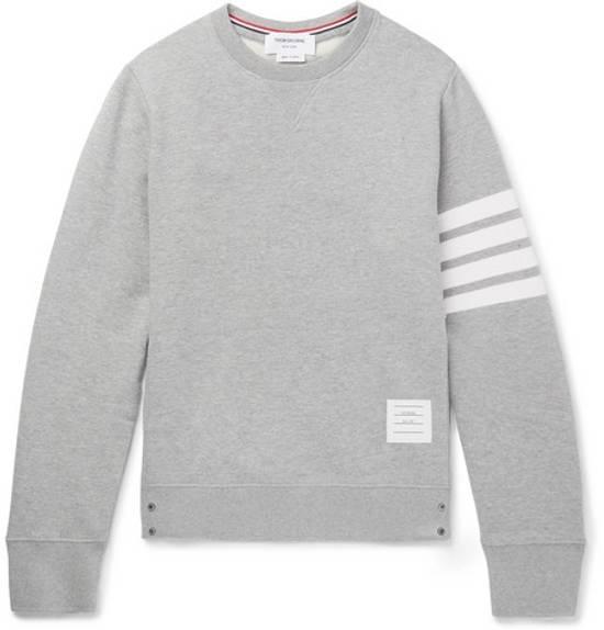 Thom Browne cosgrain loopback cotton sweater Size US M / EU 48-50 / 2