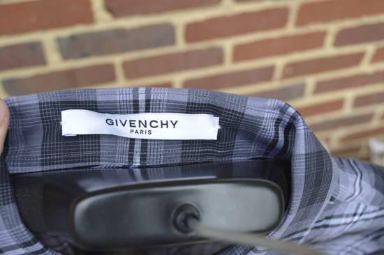 Givenchy Grey Plaid Stars Print Shirt Size US XL / EU 56 / 4 - 4
