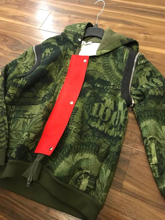 Givenchy Padded Removable Sleeve C Note Printed Jacket Size US M / EU 48-50 / 2 - 2