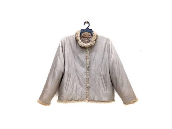 Balmain 🔥FINALDROP♨Reversible Balmain Paris Fur and Silk Jacket RARE Design Size US L / EU 52-54 / 3 - 3