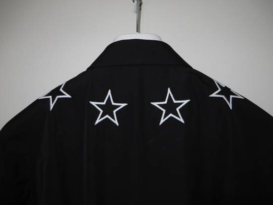 Givenchy Black and white embroidered stars shirt Size US S / EU 44-46 / 1 - 1