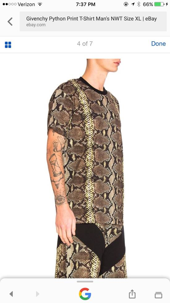 Givenchy Snakeskin Print Cotton T-Shirt Size US XL / EU 56 / 4 - 14