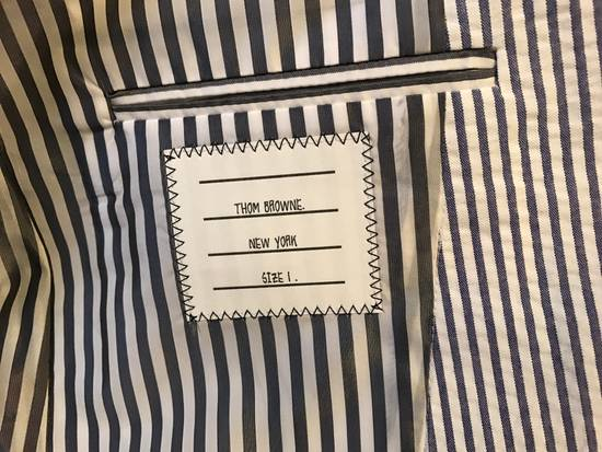 Thom Browne Classic Seersucker Suit Size 36S - 5