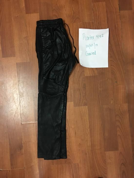 Balmain Balmain leather joggers Size US 30 / EU 46 - 1