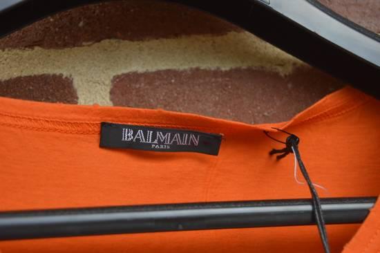 Balmain Orange Distressed T-shirt Size US M / EU 48-50 / 2 - 2