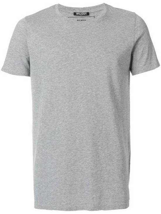 Balmain Rare 2013 Long T-Shirt Grey Made In France Size US S / EU 44-46 / 1