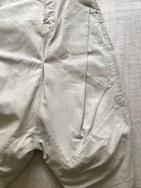 Julius AW14 painted low crotch denim cropped pants Size US 32 / EU 48 - 3
