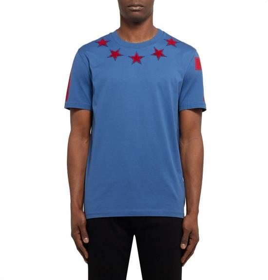 Givenchy Cuban-Fit 5 Star-Appliquéd Cotton-Jersey T-Shirt Size US L / EU 52-54 / 3 - 1