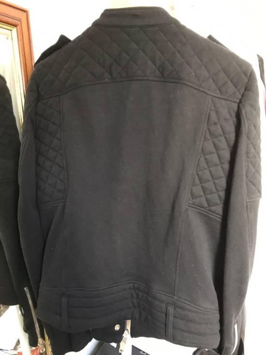 Balmain Biker Moto Sweat Jacket Size US M / EU 48-50 / 2 - 1