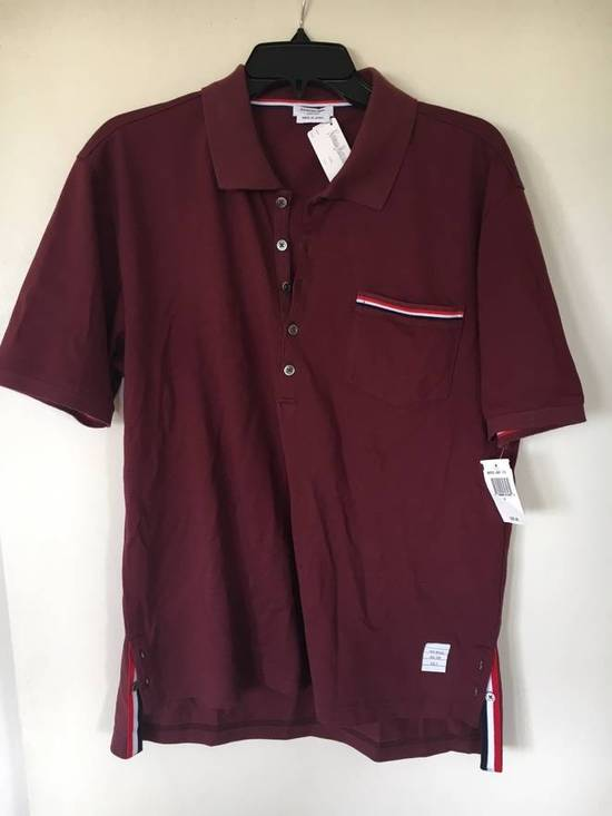 Thom Browne Red Polo worn once Size US M / EU 48-50 / 2
