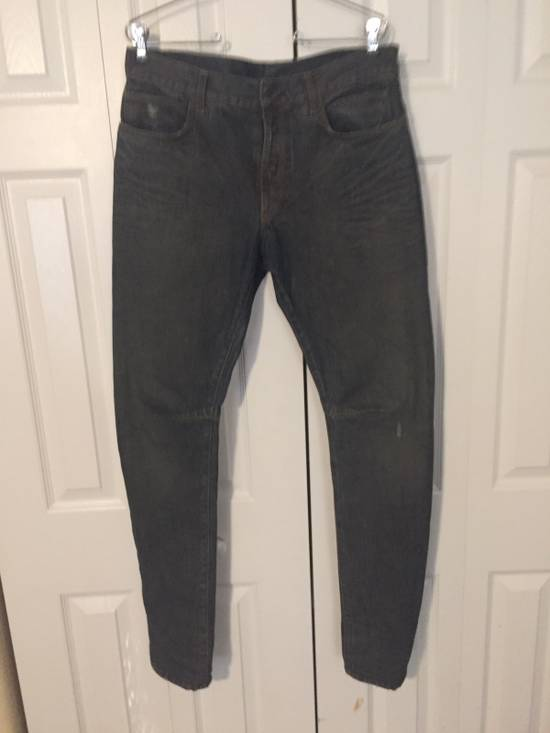 Balmain $1050 Decarnin Oil-wash Denim Size US 32 / EU 48