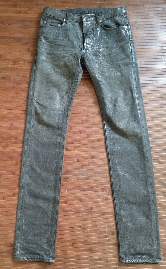 Dior Dior Waxed Black Jeans Slimane Size US 30 / EU 46 - 5