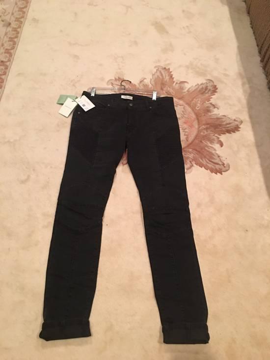 Balmain Balmain Skinny-Fit Biker Jeans Size US 34 / EU 50