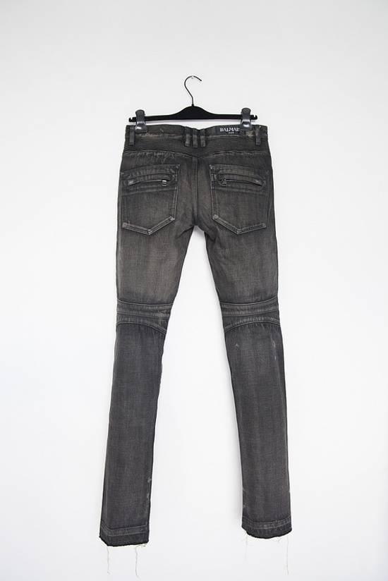 Balmain Selvedge biker denim jeans Size US 29 - 3