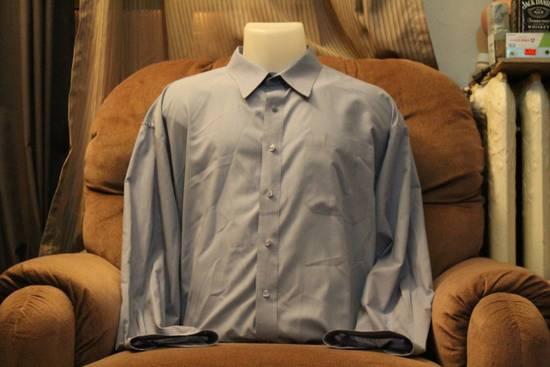 Givenchy Givenchy Monsieur Crisp Blue Dress Shirt Size US L / EU 52-54 / 3 - 1