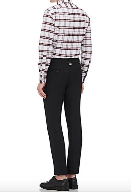Thom Browne Plaid Oxford Cloth Shirt with Grosgrain Tab NEW Size US S / EU 44-46 / 1 - 4