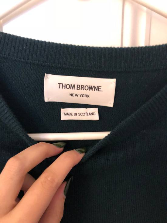 Thom Browne Thom Browne Green Cashmere Pullover Size 2 Size US S / EU 44-46 / 1 - 2