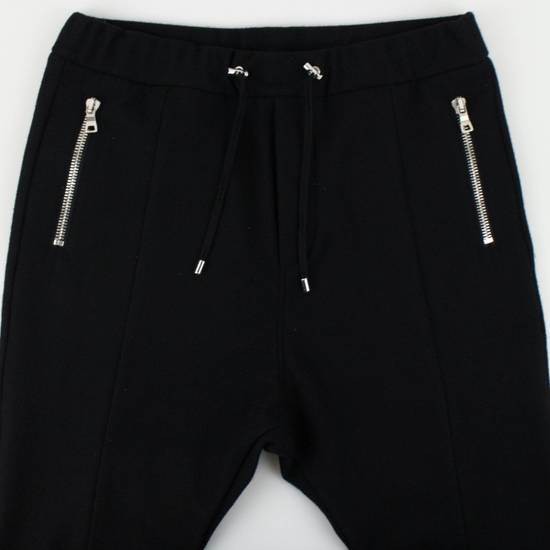 Balmain Men's Black Cashmere with Drawstrings Jogger Pants Size Large Size US 36 / EU 52 - 2