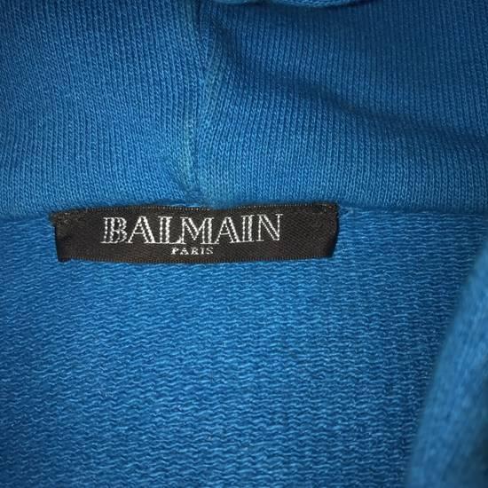 Balmain Balmain Zip Up Hoodie Paris Blue Size US M / EU 48-50 / 2 - 1