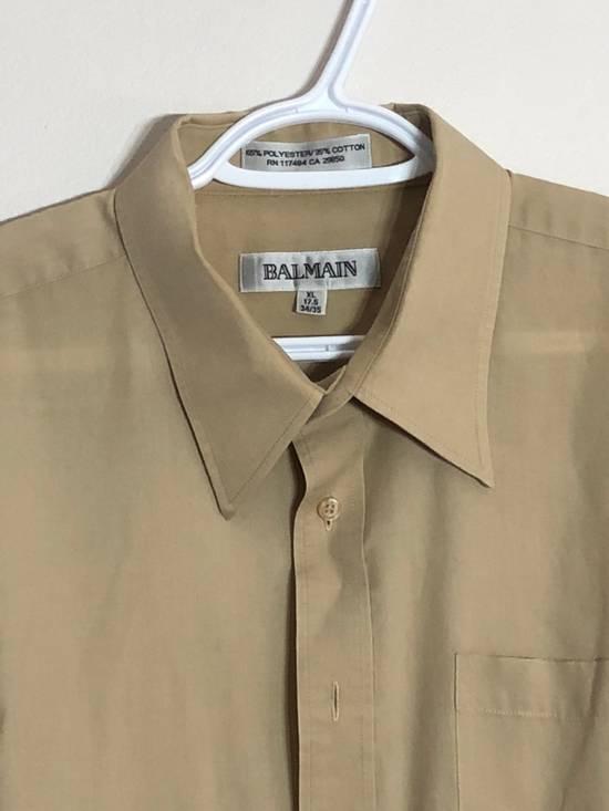Balmain khaki button up Size US XL / EU 56 / 4 - 1