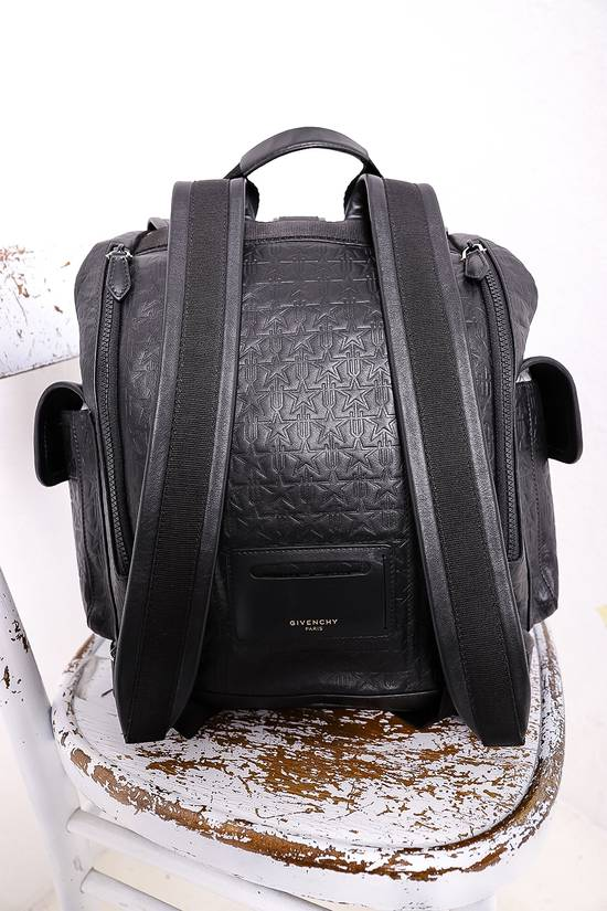 Givenchy Black Leather Backpack Size ONE SIZE - 4