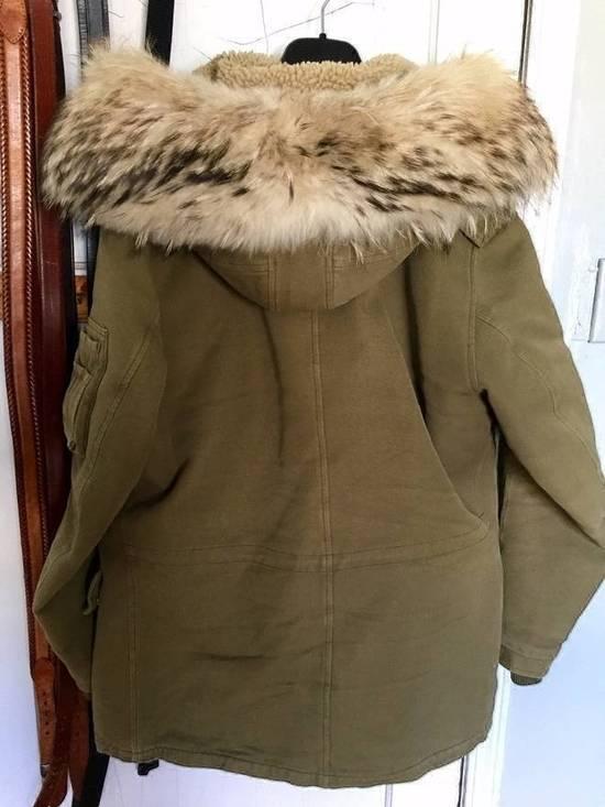 Balmain Fall 2011 Decarnin Fur Parka Size US L / EU 52-54 / 3 - 2