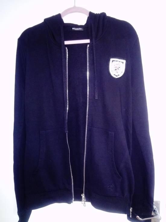 Balmain Balmain side zipped Crest hoodie L Size US L / EU 52-54 / 3 - 4
