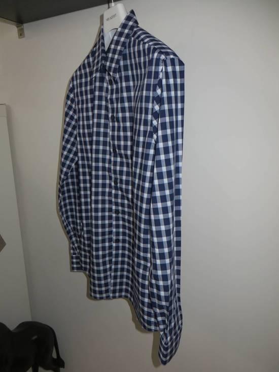 Givenchy Blue check- shirt Size US M / EU 48-50 / 2 - 3